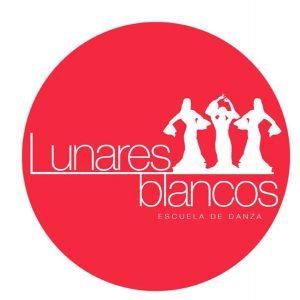 Logo de la escuela de baile Lunares Blancos de Boadilla del Monte